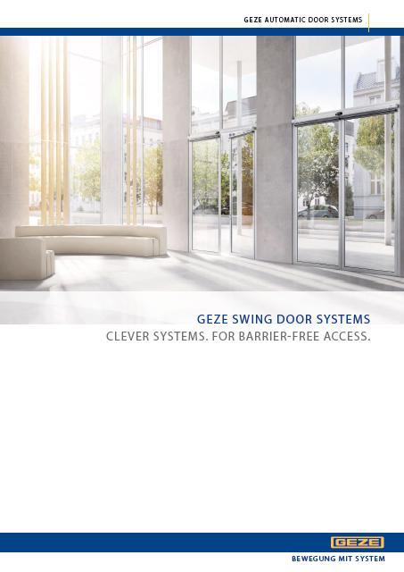 Click to view brochure - GEZE Swing Door Operators